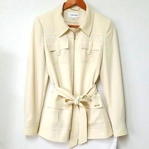 New Calvin Klein Coat Size 8 NWT